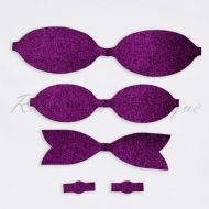 Fine Purple Bow Kit